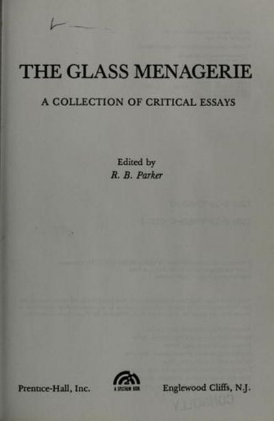 century collection critical essay glass interpretation menagerie twentieth An introduction to the glass menagerie by tennessee critical essay #1 the glass menagerie has had a significant impact on later twentieth century drama.