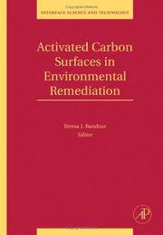 ACTIVATED CARBON SURFACE IN ENVIRONMENTAL REMEDIATION by BANDOZA T.J - Hardcover - U. S. EDITION - from HR ENGINEERS BOOKS and Biblio.com
