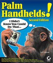 Palm Handhelds I Didn't Know You Could Do That