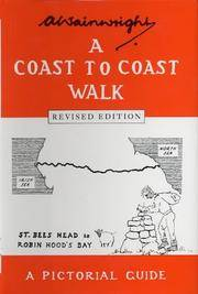 A Coast to Coast Walk: A Pictorial Guide (Wainwright Pictorial Guides) Near Fine