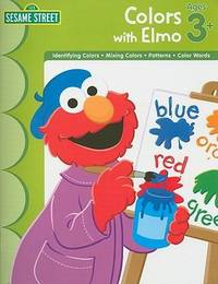 image of Sesame Workbook - Colors With Elmo (Sesame Street (Learning Horizons))