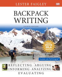 Backpack Writing, MLA Update Edition (4th Edition)