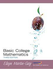 Basic College Mathematics (3rd Edition)