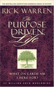 image of The Purpose Driven Life MM---4-pack: What On Earth Am I Here For?