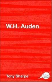 W.H. Auden (Routledge Guides to Literature)