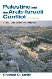 Palestine and the Arab-Israeli Conflict: A History with Documents by  Charles D Smith - Paperback - from Wonder Book (SKU: E11G-00834)