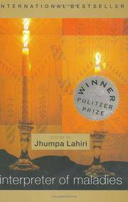 Interpreter of Maladies by Lahiri, Jhumpa - 2000-05-22