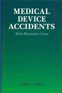 Medical Device Accidents: With Illustrative Cases