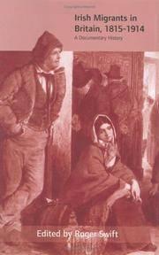 Irish Migrants in Britain, 1815-1914: A Documentary History