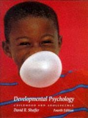 image of Developmental Psychology: Childhood and Adolescence