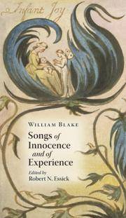 image of Songs of Innocence and of Experience (Treasures from the Huntington Library)