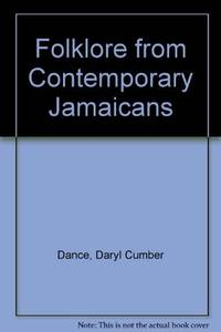 Folklore from Contemporary Jamaicans