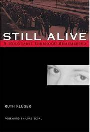 image of Still Alive: A Holocaust Girlhood Remembered (The Helen Rose Scheuer Jewish Women's Series)