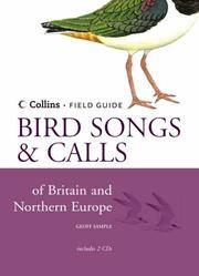 Collins Field Guide: Bird Songs and Calls of Britain and Northern Europe