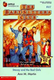 image of Stacey and the Bad Girls (Baby-Sitters Club, 87)