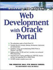 Web Development With Oracle Portal