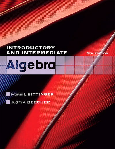 intermediate algebra 11th edition the bittinger worktext series paperback The options for the bittinger worktext series include the following:  view current edition prealgebra and introductory algebra, 4/e  bittinger intermediate .