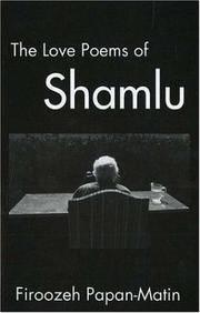 The Love Poems Of Ahmad Shamlu
