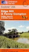 image of Edge Hill and Fenny Compton (Explorer Maps)