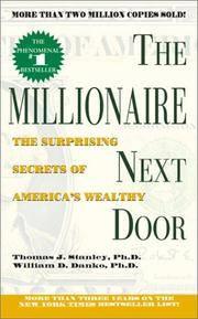 image of The Millionaire Next Door: The Surprising Secrets of America's Wealthy