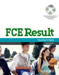 FCE Result Teachers Book and DVD Pack (Result Super-Series)
