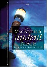 The Macarthur Student Bible