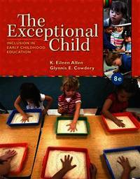 The Exceptional Child: Inclusion in Early Childhood Education (8th Edition)