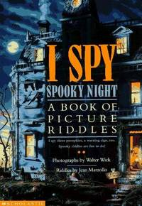I Spy Night A Book of Picture Riddle by Jean Marzollo/ Walter Wick - Hardcover - 9 1/4 by 12 1/4 by 1/2 - 1996 - from Peter Christos (SKU: 516)