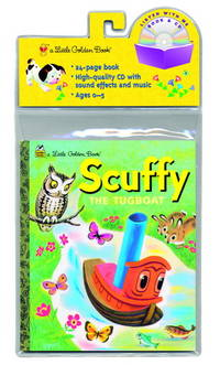 image of Scuffy the Tugboat (Little Golden Book & CD)