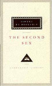 image of The Second Sex (Everyman's Library Classics)