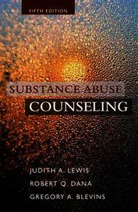 pdf and substance abuse counseling judith lewis 5th edition