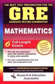 GRE Mathematics (GRE Test Preparation)