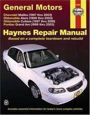 GM Malibu, Alero, Cutlass & Grand AM, 1997 Thru 2003