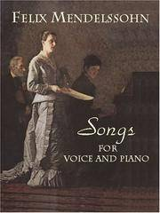 Songs for Voice and Piano