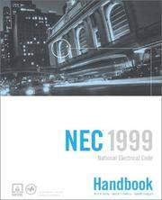 National Electrical Code, NEC Handbook 1999 (National Fire Protection Association//National Electrical Code Handbook) (National Fire Protection Association Electrical Code Handbook) 8th Edition by National Fire Protection Association - Hardcover - 1999 - from Rob Briggs Books (SKU: 623588)