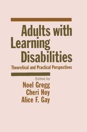 Adults With Learning Disabilities: Theoretical and Practical Perspectives
