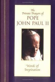 Words of Inspiration (Private Prayers of Pope John Paul II) (v. 1)