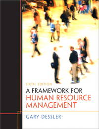 image of Framework for Human Resource Management, A (6th Edition)