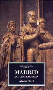image of Companion Guide to Madrid and Central Spain