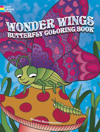 WONDER WINGS BUTTERFLY COLORING BOOK (O)