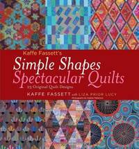 image of Kaffe Fassett's Simple Shapes Spectacular Quilts: 23 Original Quilt Designs