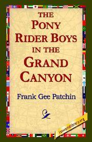 image of The Pony Rider Boys in the Grand Canyon