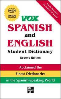 Vox Spanish and English Student Dictionary Pb, 2nd Edition