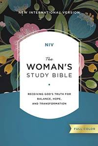 NIV, The Woman's Study Bible, Hardcover, Full-Color: Receiving God's Truth for Balance, Hope, and...