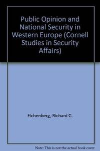 image of Public Opinion and National Security in Western Europe