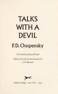 Talks With a Devil