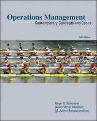 Operations Management:  Contemporary Concepts and Cases (Mcgraw-hill/Irwin Series Operations and...
