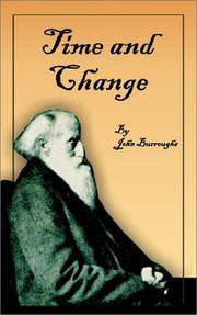 image of Time and Change (Complete Writings of John Burroughs)