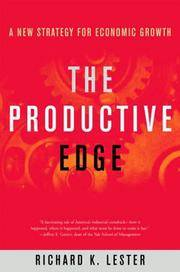 The Productive Edge: A New Strategy for Economic Growth