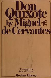 image of Don Quixote (Modern Library Giants, 15.2)